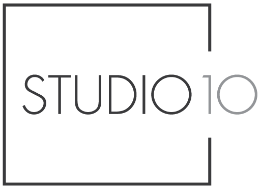 Studio 10 Interior Design Logo Large